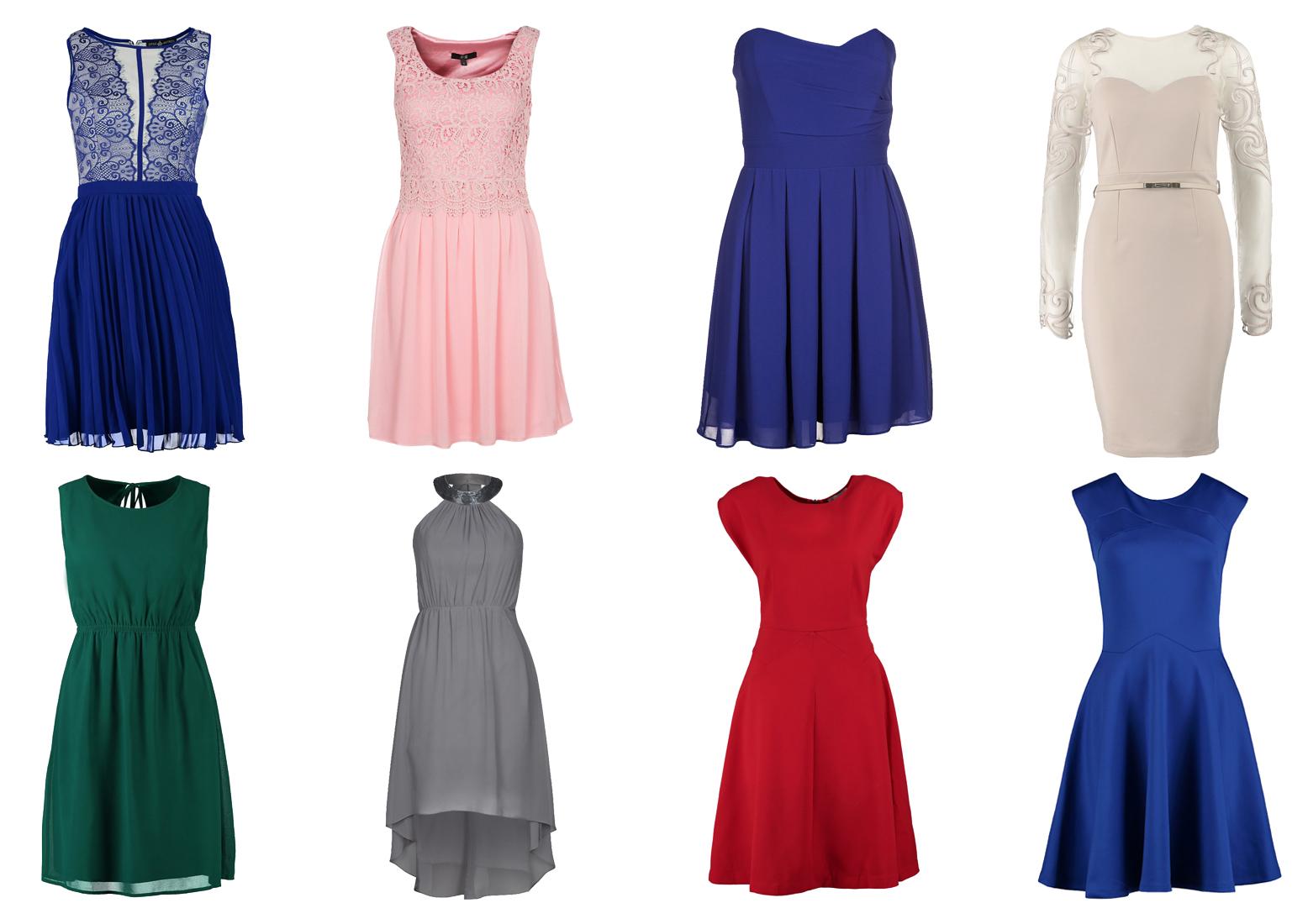 Osiem modnych sukienek dla druhen