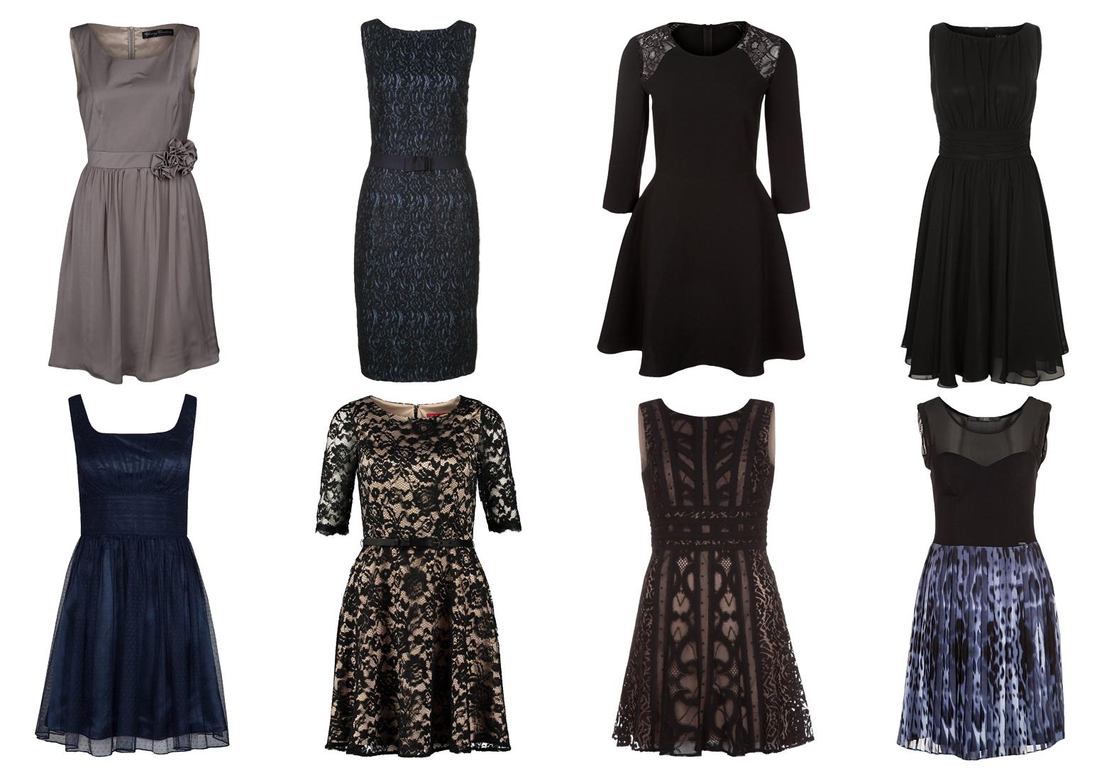 Osiem różnych sukienek studniówkowych