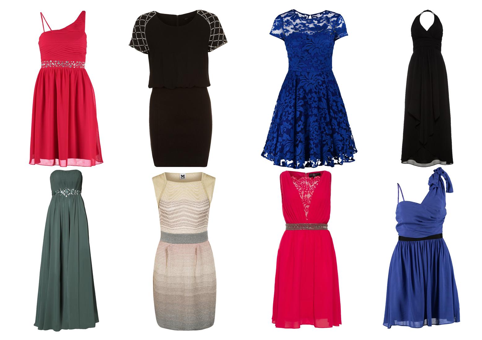 Nowe sukienki wieczorowe
