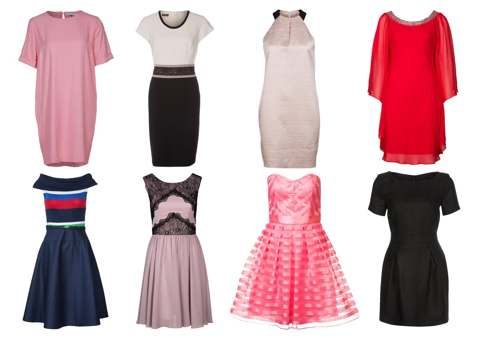 Osiem sukienek wyjściowych