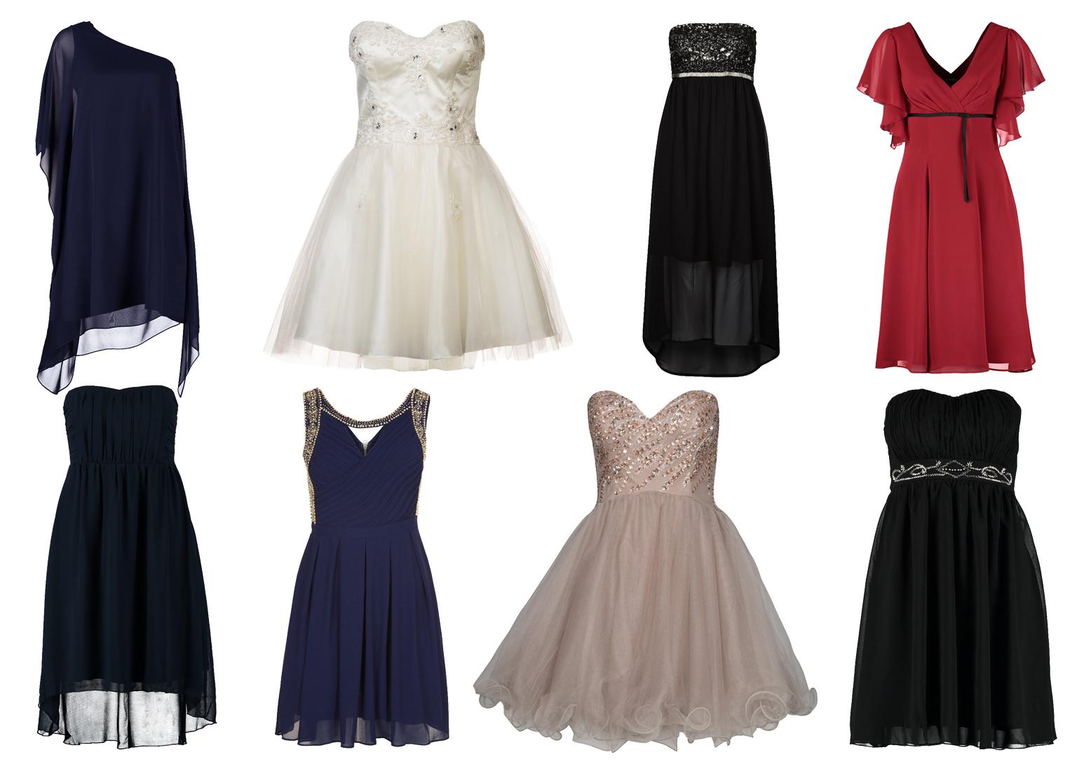 Zwiewne sukienki - niebieska, biała, dwie czarne, czerwona, granatowa, fioletowa, beżowa