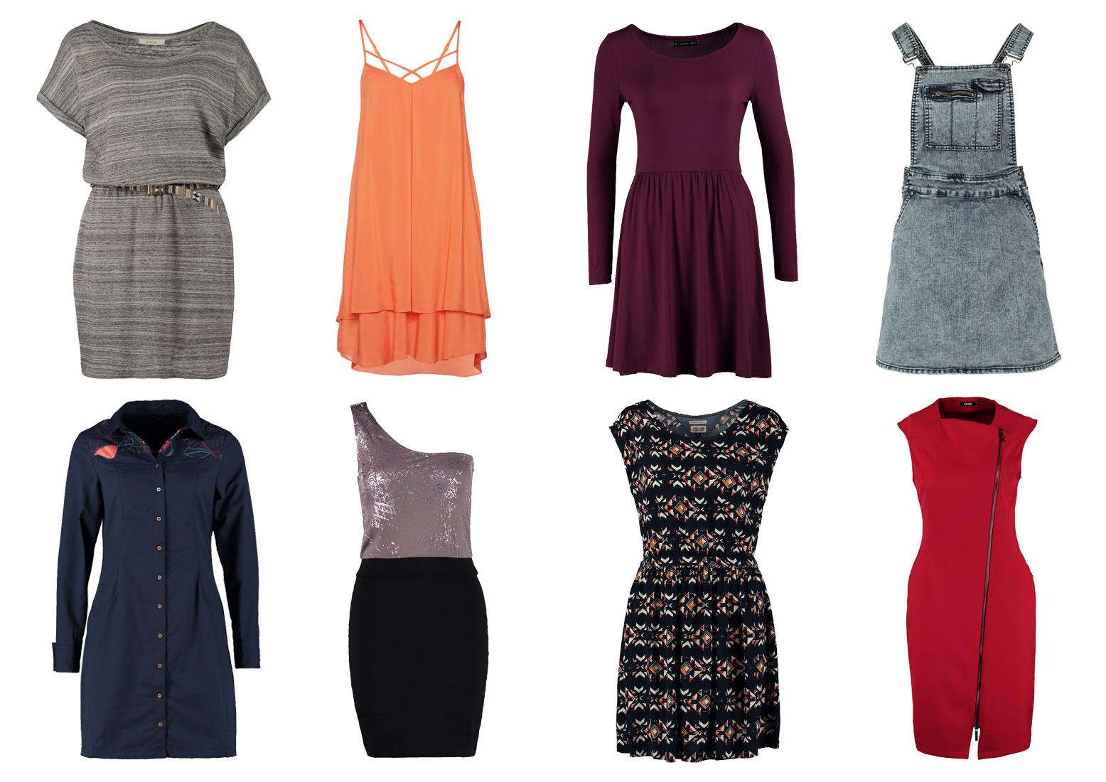 Sukienki - różne typy